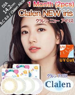 [1 Month/4Color] クラレン ニュー アイリス 1ヶ月 - Clalen New IRIS 29 - 1 Month (2pcs) [14.2mm]