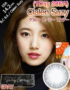 [1 Day/GRAY] クラレン スージー ワンデー - Clalen SUZY - 1 Day (30pcs) [14.2mm]